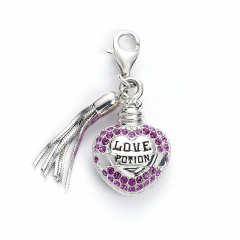 Harry Potter Love Potion Clip on Charm with Crystal Elements - HPSC053