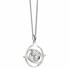 Harry Potter Embellished with Crystals Time Turner Necklace - HPSN021