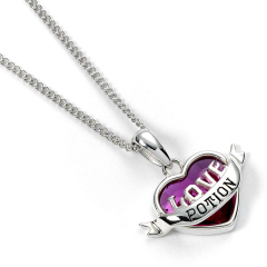 Official Harry Potter Sterling Silver Love Potion Necklace with Crystal HPSN0235