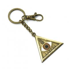 Fantastic Beasts Triangle Eye Keyring KR0004