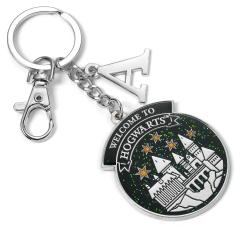 Official Harry Potter Personalised Hogwarts Initial Keyring KR0179