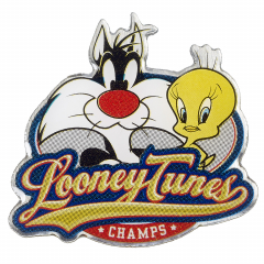 Looney Tunes Sylvester and Tweety Pie Pin Badge LTPB011