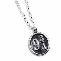 Official Harry Potter Platform 9 3/4 Necklace Sterling Silver - NN0011
