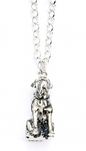 Official Harry Potter Hagrids Dog Fang Necklace Sterling Silver - NN0041