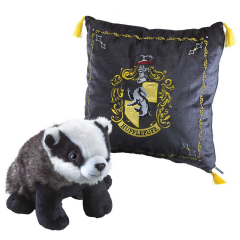 Plush Hufflepuff House Mascot Cushion NN7045