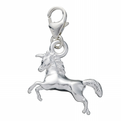 Sterling Silver Unicorn Roodle Charm