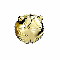 Harry Potter Sterling Silver Gold Plated Golden Snitch Spacer Bead SB0104