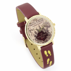 Harry Potter Marauders Map Watch by The Carat Shop