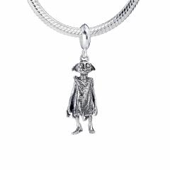 Harry Potter Sterling Silver Dobby The House-Elf slider charm