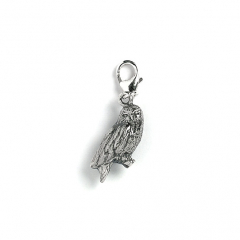 Harry Potter Hedwig Owl Clip on Charm WB0046