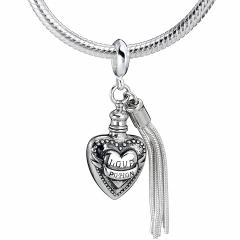 Sterling Silver Love Potion slider Charm