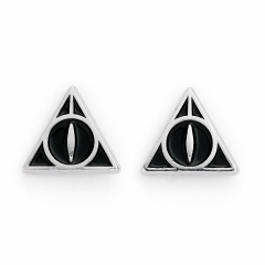 Official Harry Potter Deathly Hallows Stud Earrings WES0054