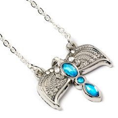 Official Harry Potter Silver Plated Diadem Necklace WN000124