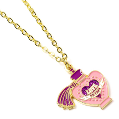 Official Harry Potter Gold plated Love Potion Necklace WN000235